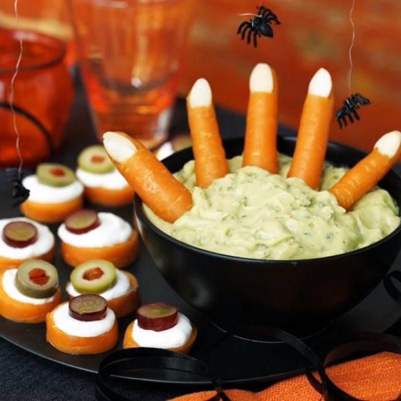 Frankensteins Fingers and Sheeps Eyes Halloween Fun