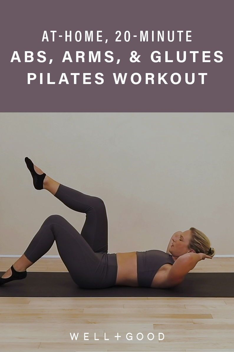 Burn out your abs, arms, and glutes with this 20-minute, core-quaking Pilates workout
