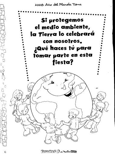 Material educativo para maestros: Día de la Tierra | Language Love ...