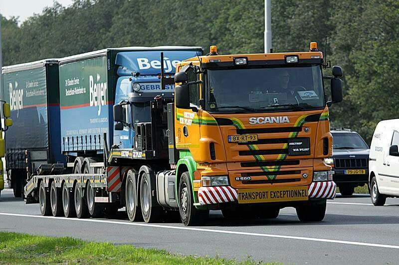Scania R500 V8. speciaaltransport. Zw.trantsport