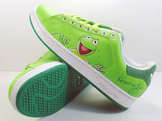 adidas stan smith kermit the frog