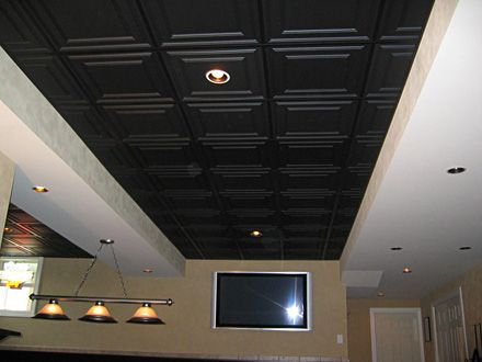 Pin By Ceilume On Office Ceilings Black Ceiling Ceiling