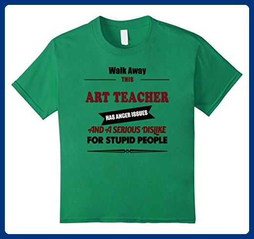 unisex-child Angry Art Teacher Tshirt, artistic skills, teaching - artistic skills