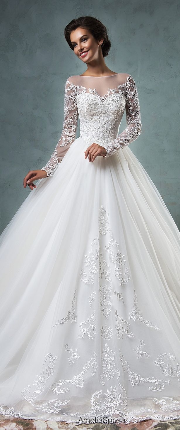 Amelia Sposa 2016 Wedding Dresses - Part 2 | Hochzeitskleid ...