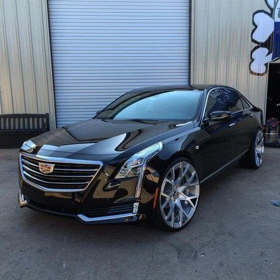 Cts Rims 22 Coupe Chrome Inch