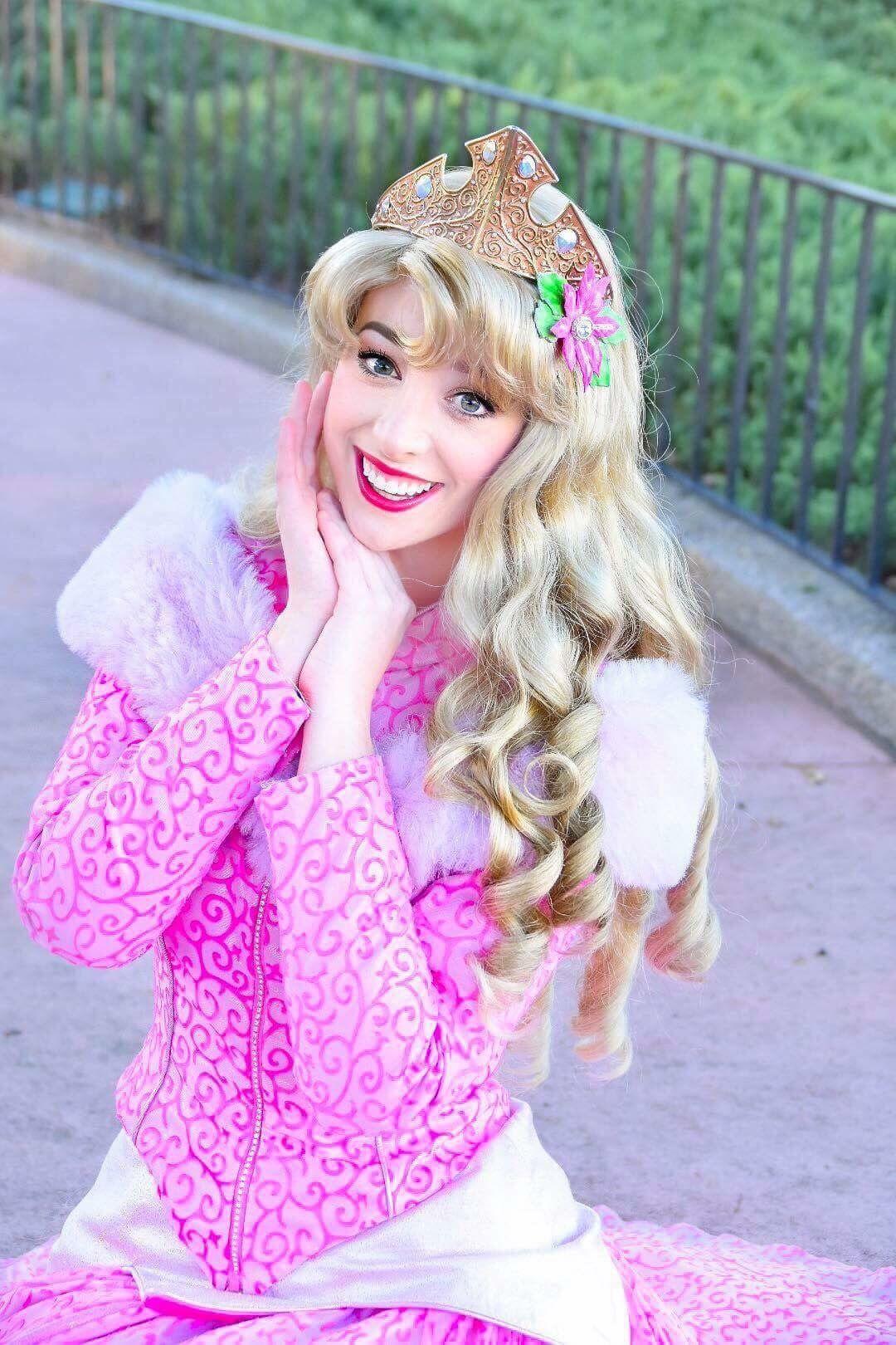 Princess Aurora, Walt Disney World Face Character, Sleeping Beauty