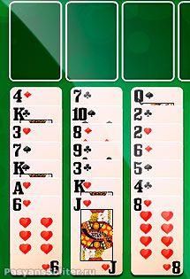 карточная игра солитер онлайн бесплатно