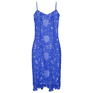 Yanina     Eyelet Lace Fitted Dress