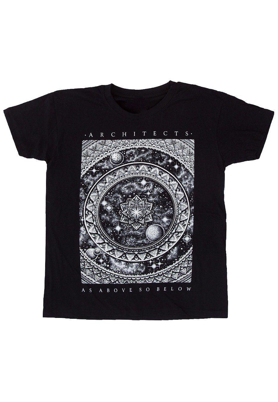 New Official ARCHITECTS MANDALA T-Shirt