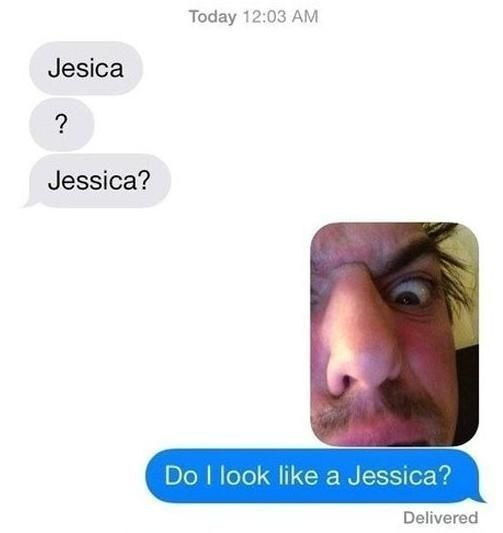 The JESSICA Approach:   26 Absolutely Perfect Ways To Respond To A Wrong Number Text