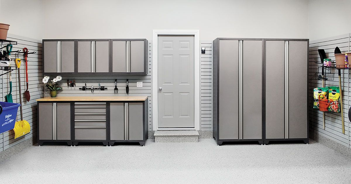 A Modular Storage Cabinet System From Garage Living That Can Be Configured To Meet Your Needs E And Budget