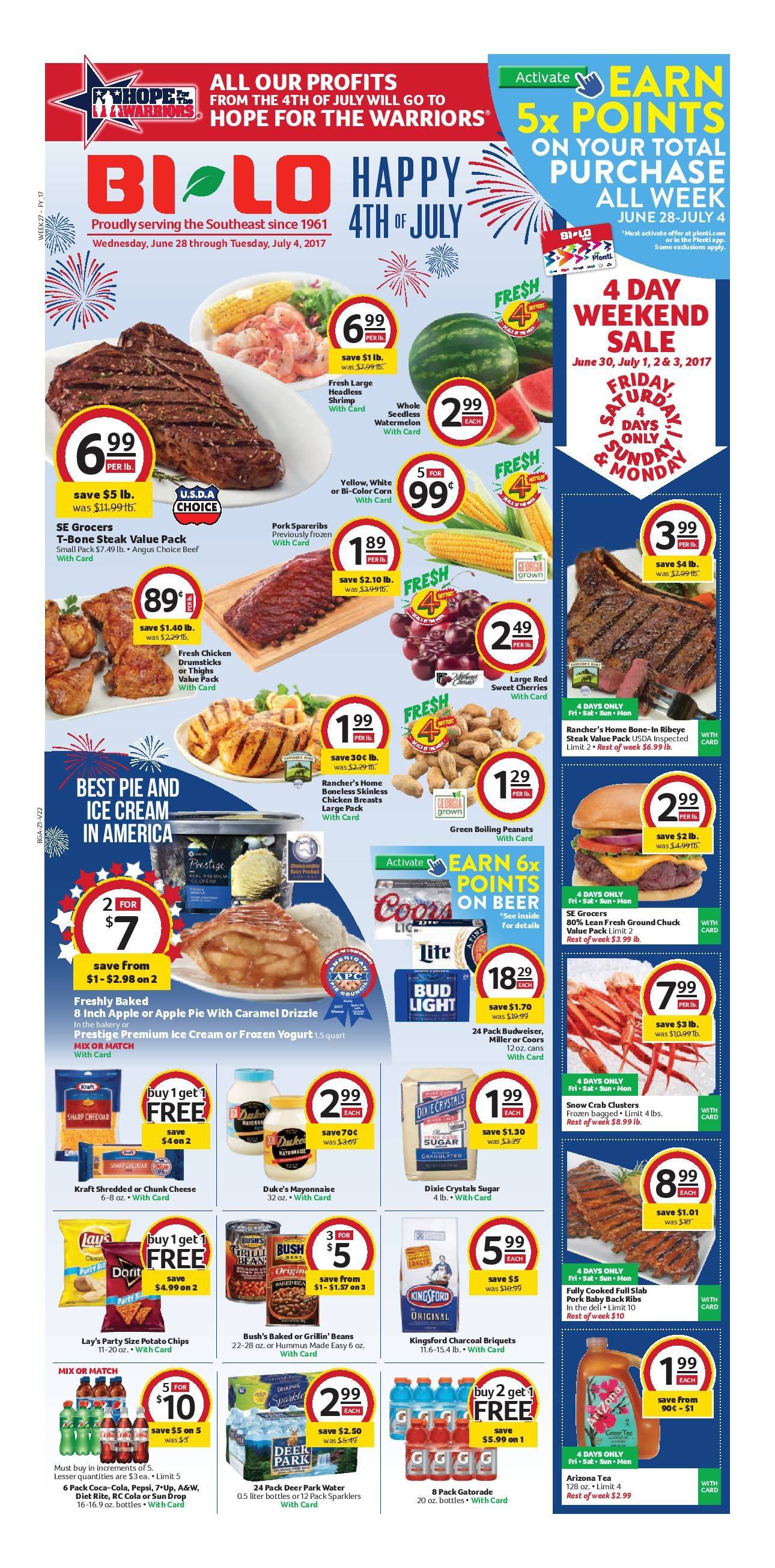 Bilo Weekly Ad June 28 July 4 2017 Bilo Grocery weekly ad