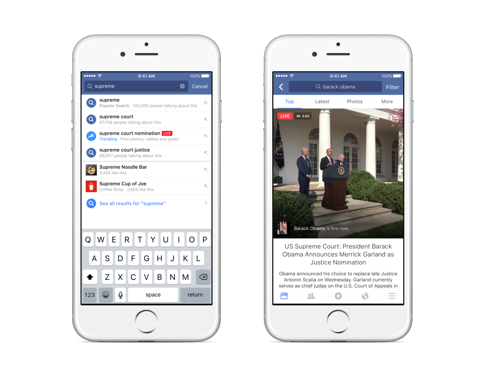 Following the release of a range of new Facebook Live features earlier this week, The Social Network has outlined a few other, additional video discovery features to help boost content on the platform.