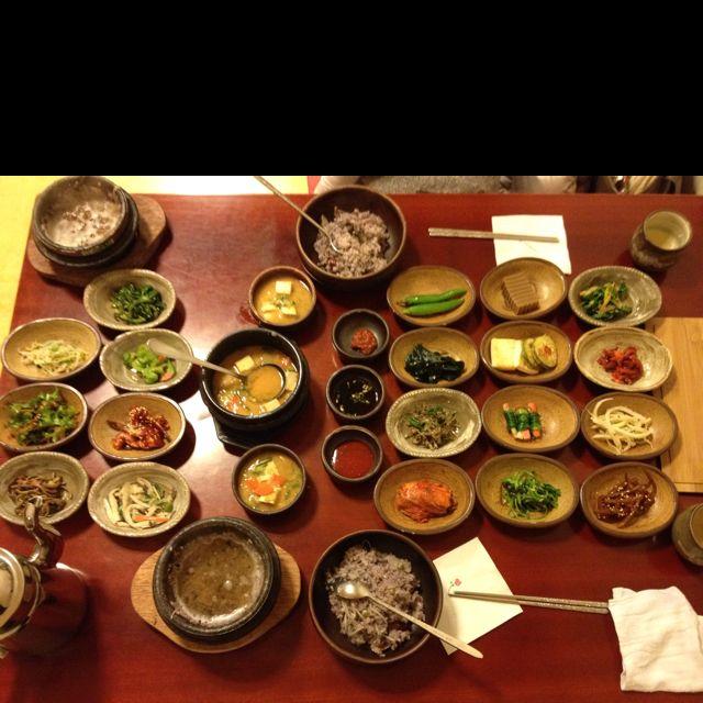韓定食~ in Korea