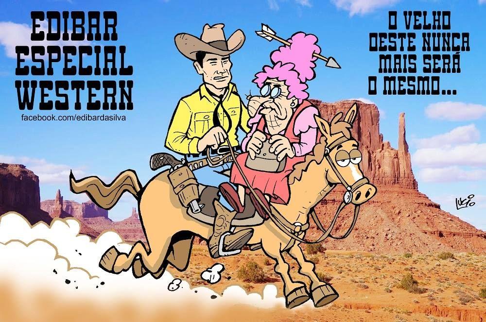 Tex nas tiras de Edibar