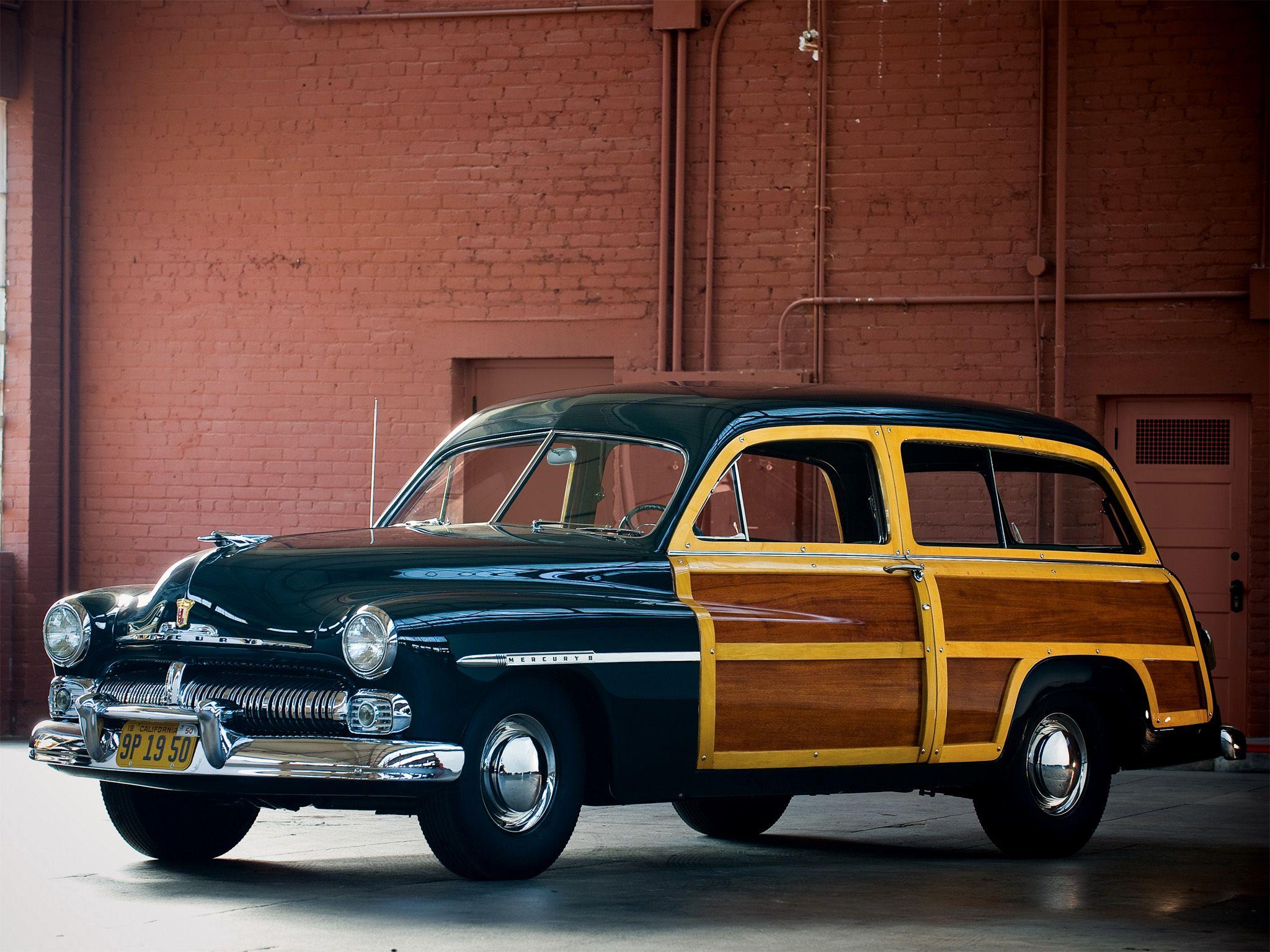 1950 Mercury Eight Stationwagon Crazy Cars Woody Wagon Station 1941