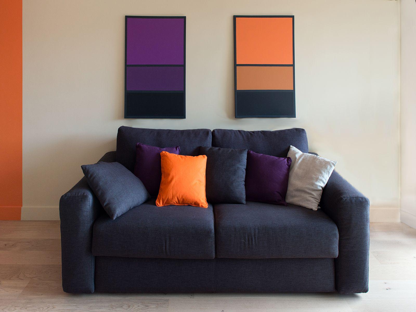 coin salon vitamin tableaux sur mesure aux couleurs de l 39 appartement r alisation murs et. Black Bedroom Furniture Sets. Home Design Ideas