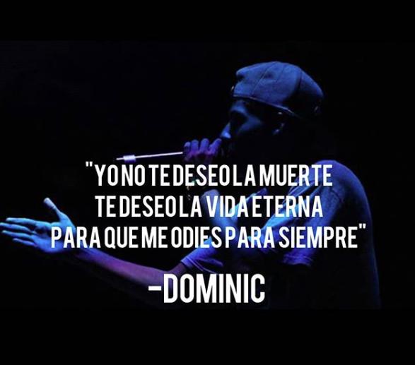 Frases De Freestyle Dominic Letras De Rap Frases Brillantes Frases Bonitas