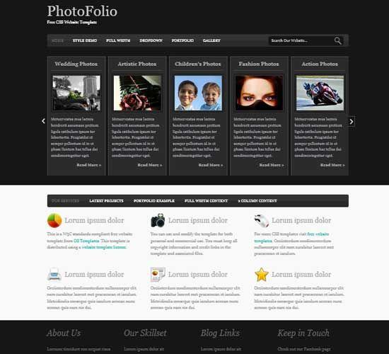 Portfolio WordPress Themes —