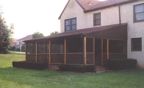 Image Detail For   Decks And Patios PA, Screen Rooms, Enclosed Porches,  Enclosed