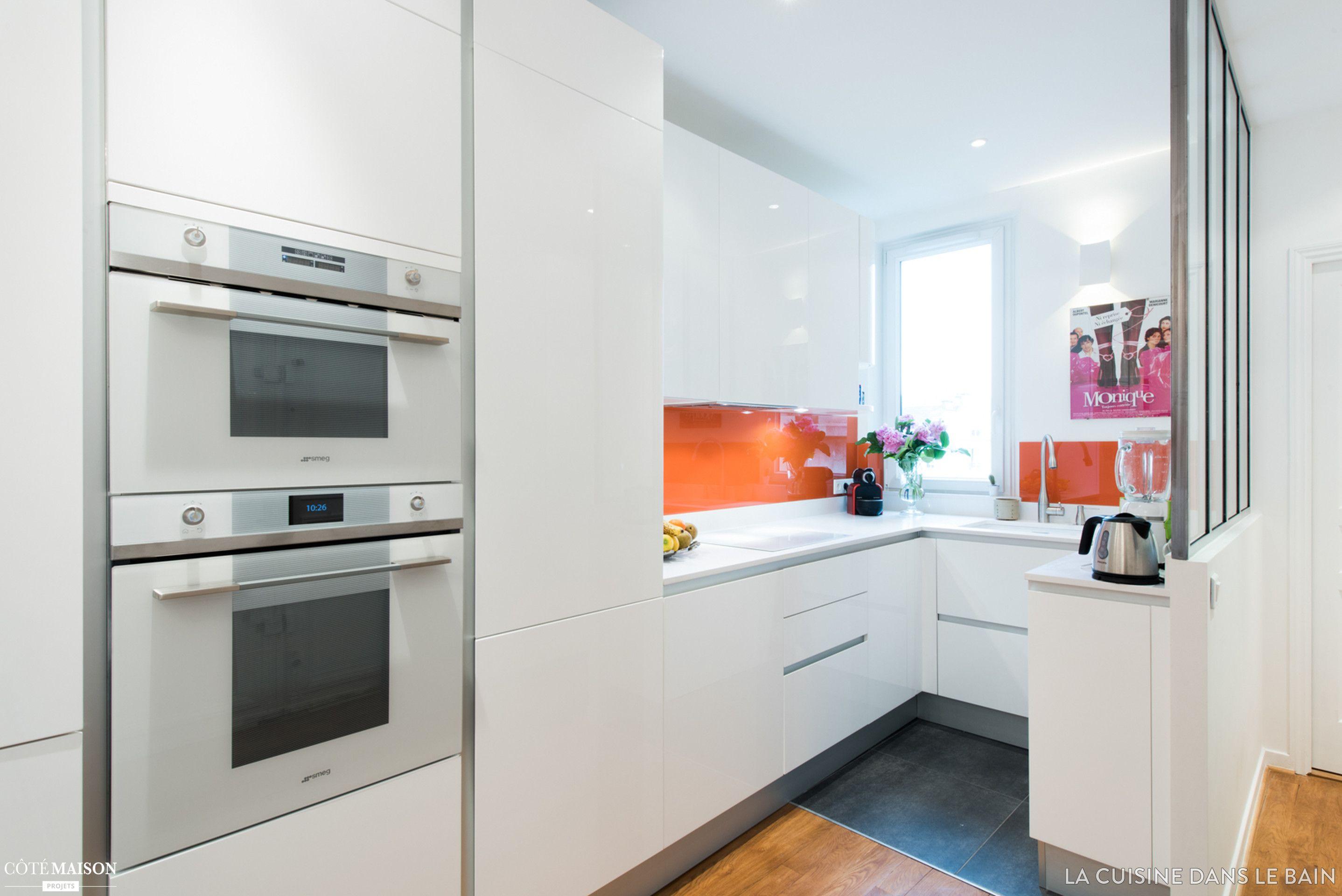 une cuisine ouverte design et sur mesure paris sk concept la cuisine dans le