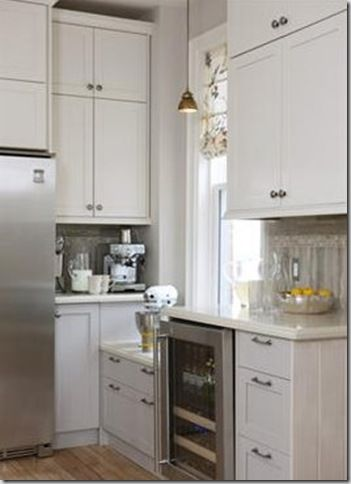 Painting Ikea cabinetry for a custom look. Design by Sarah ...