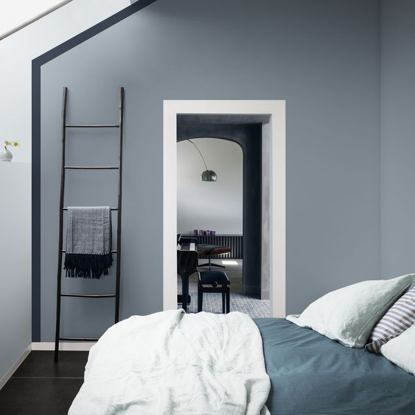 Peinture Couleur Salle De Bain Chambre Cuisine Couleur Chambre Chambre Bleu Et Gris Deco Chambre