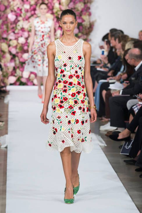 Oscar de la Renta Spring 2015 Ready-to-Wear - Oscar de la Renta Ready-to-Wear Collection