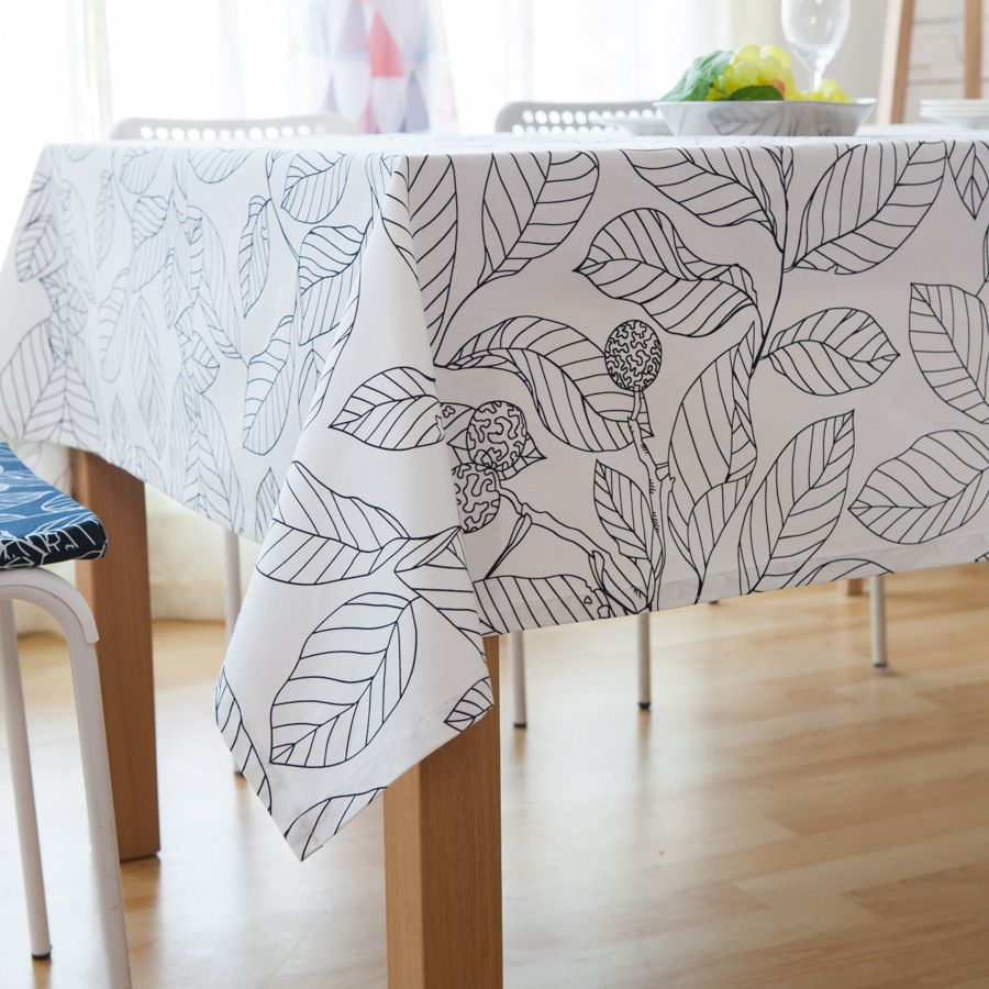 high-grade cotton tablecloths table linen tablecloths home kitchen ...