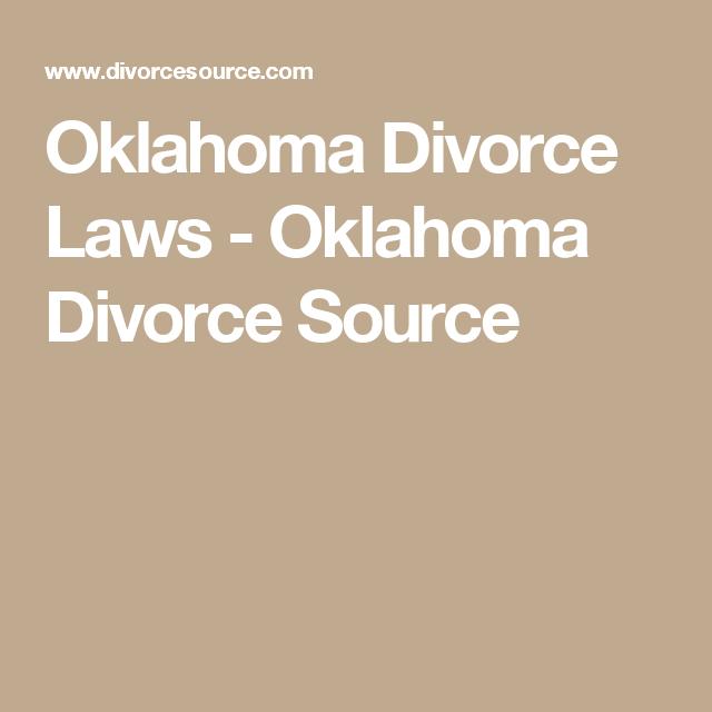 Oklahoma Divorce Laws - Oklahoma Divorce Source