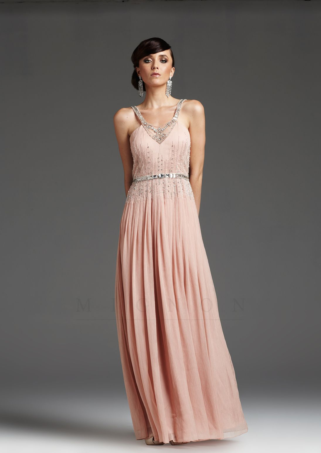 Unique Vintage | Pinterest | Powder pink, Vintage prom and Retro dress