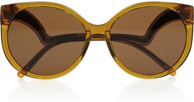 House of Harlow Robyn round-frame acetate sunglasses