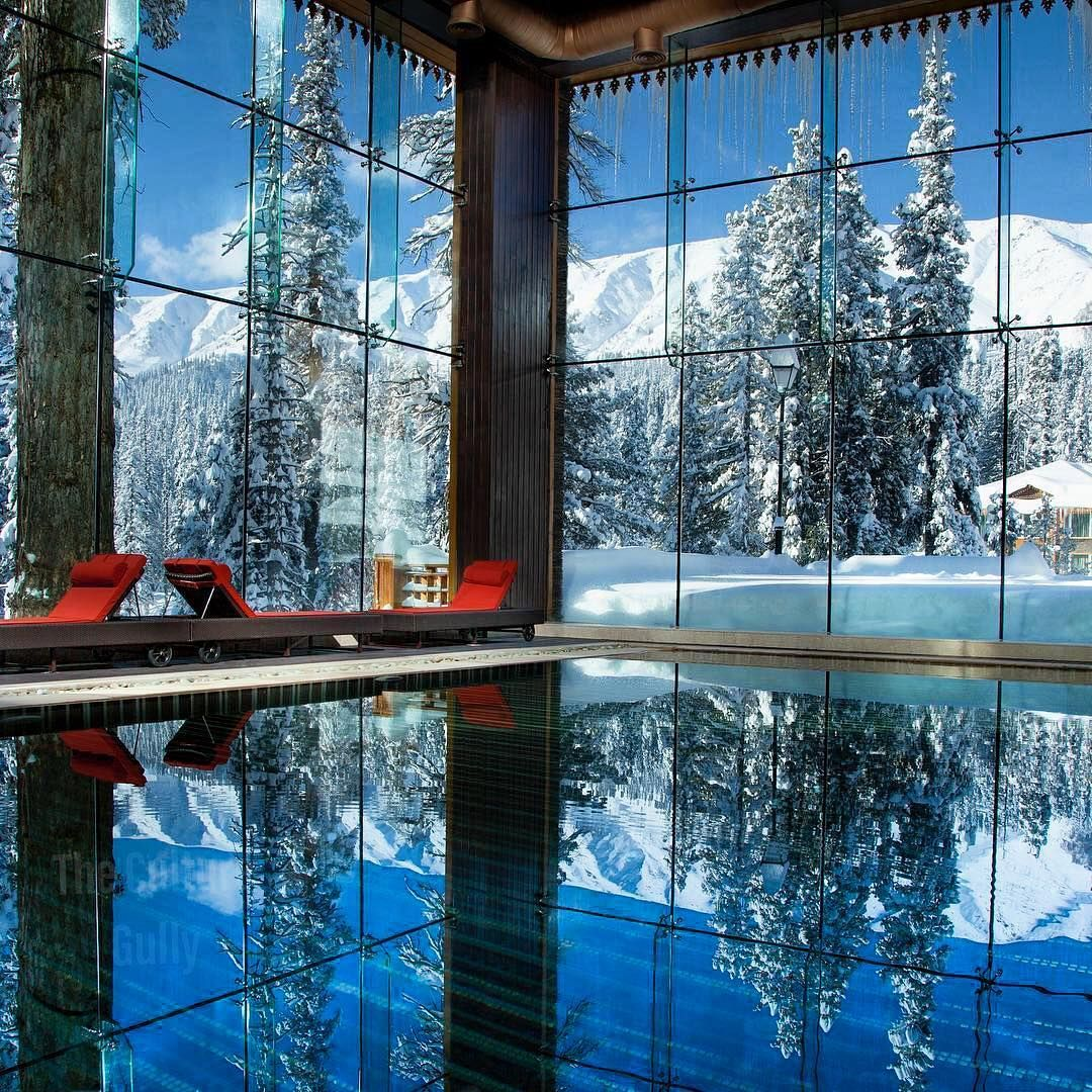 Khyber P Hotel Gulmarg Kashmir Khyberp Luxury India Snow Mountains Indiagram Ig Clicks Indialove