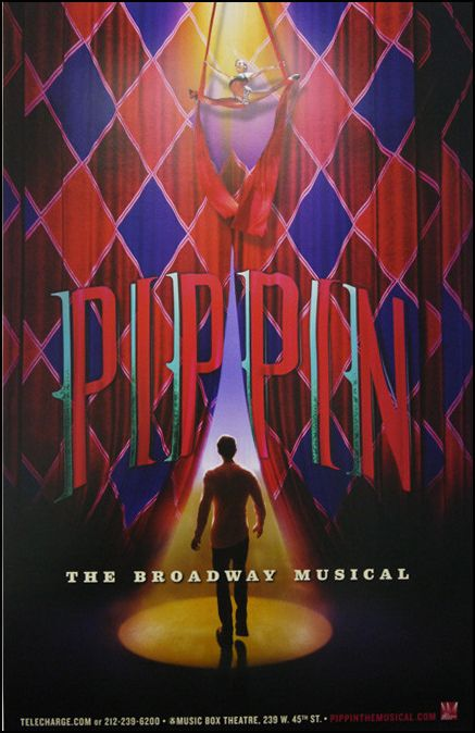 Pippin The Musical Broadway Poster 20 00 Musicworks