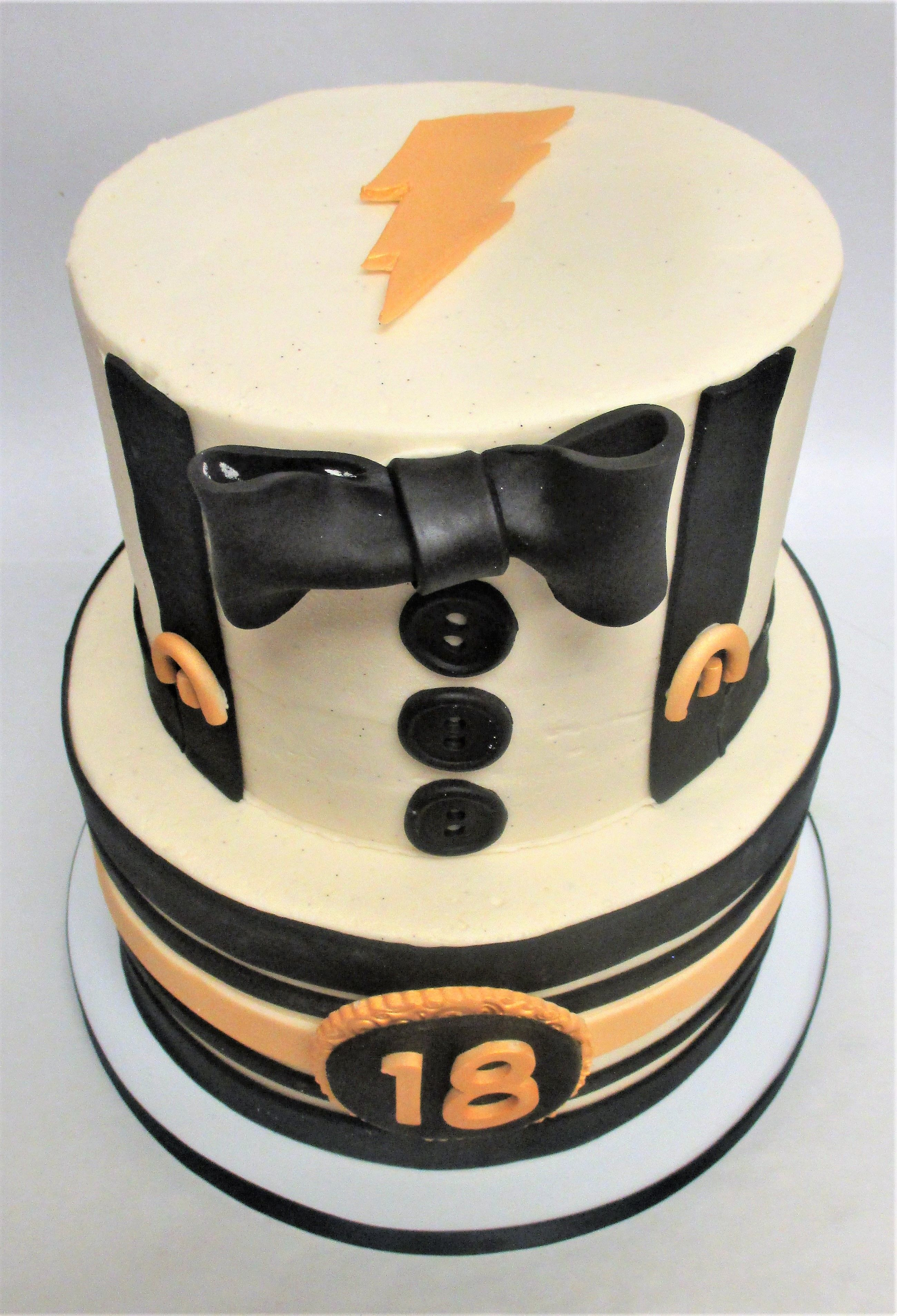 Sophisticated and Fun 2Tier Mens Fashion Inspired 18th Birthday