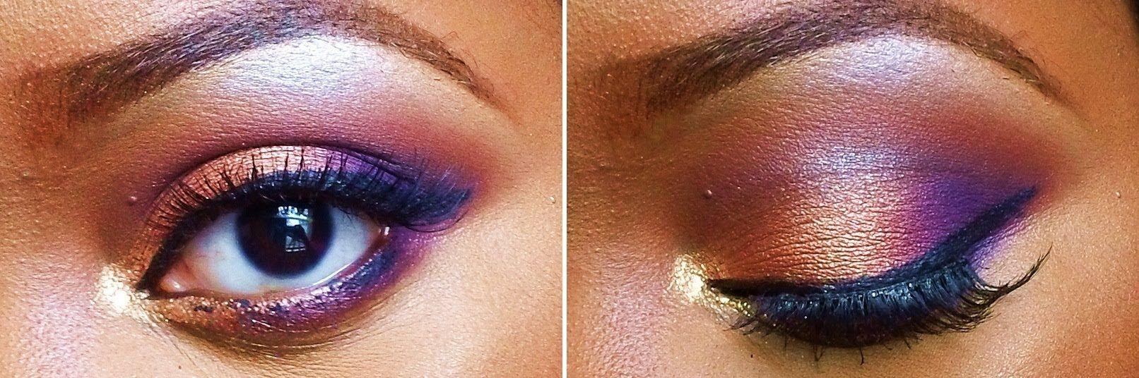 Makeup Tutorial: Smoking Purple in Autumn