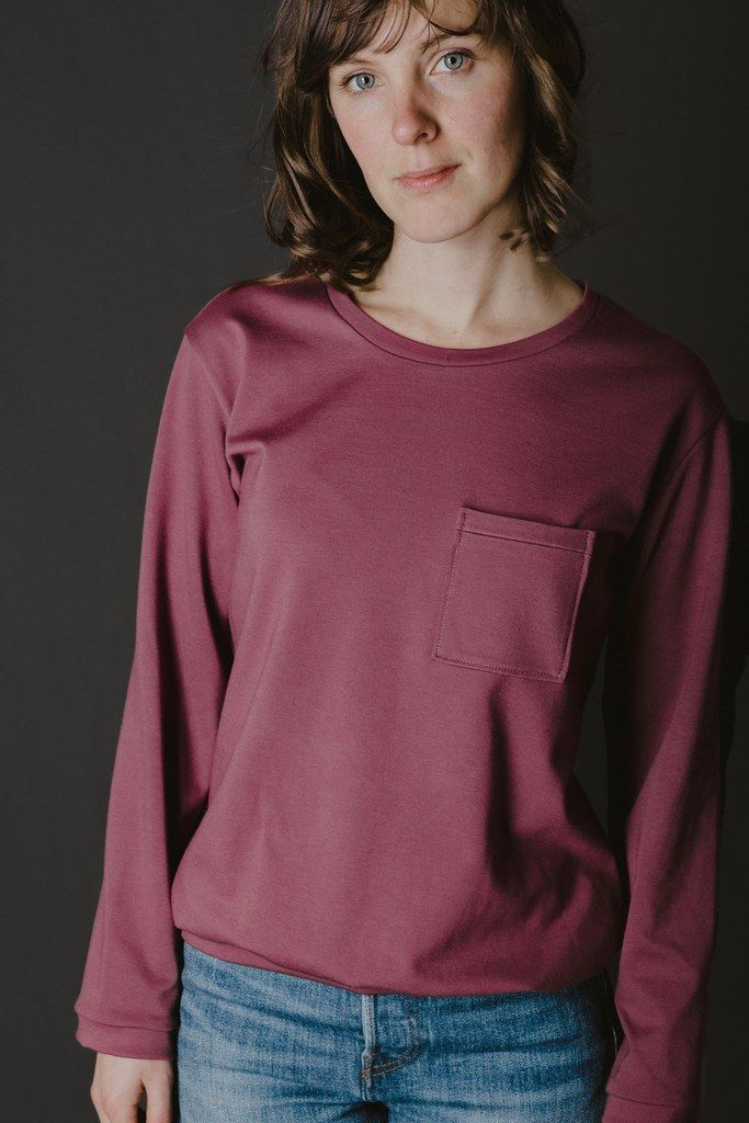 The basic sweatshirt pattern. Sewing pattern by Ready to sew. Jeanne ...