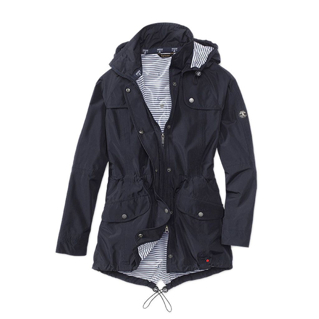 Barbour Women's Navy Blue Trevose Jacket | Outerwear | Pinterest ...