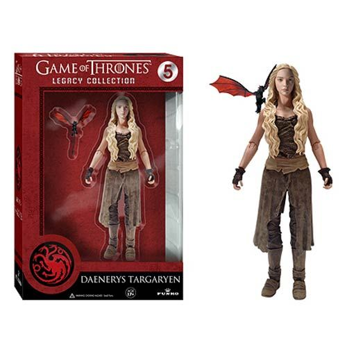 Game of Thrones Daenerys Targaryen Legacy Action Figure - Funko - Game of Thrones - Action Figures at Entertainment Earth