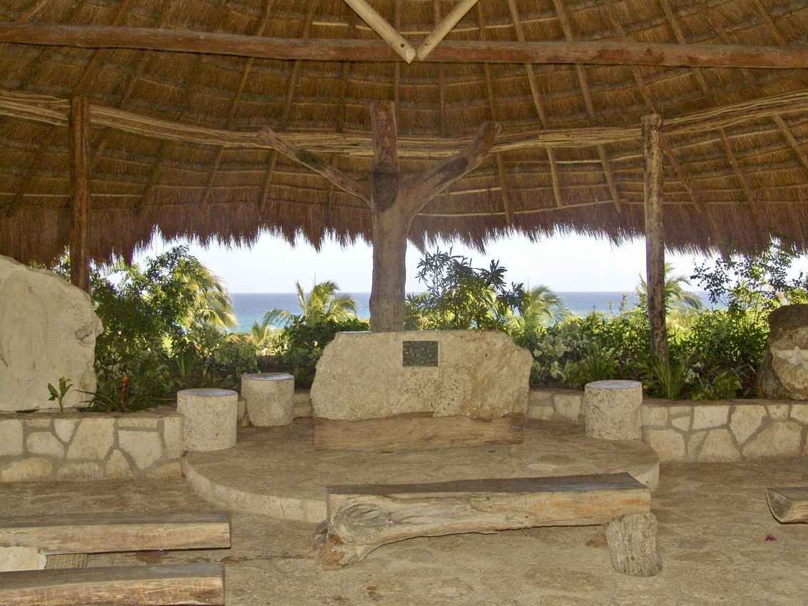 St. Francis of Assisi Chapel Xcaret Cancun Mexico (With
