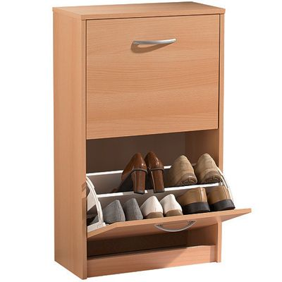 2 Tier Wooden Shoe Cabinet In Just 39 99 At Wholesale Price Delivery Time 2 Working Days Days Wooden Shoe Cabinet Wholesale Furniture Shoe Cabinet