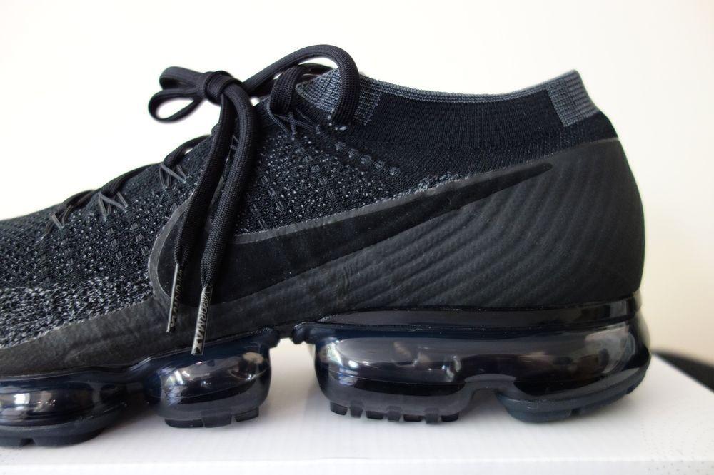 timeless design 5a09f 957b3 Nike Air VAPORMAX OG Flyknit Triple Black 1.0 849558 007 off ...