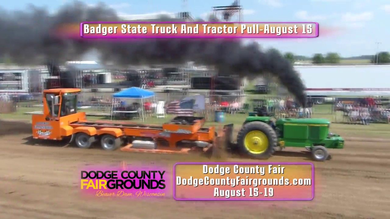 2018 Dodge County Fair Celebrate Summer With Music Food And Fun Truck And Tractor Pull County Fair Grand Funk Railroad