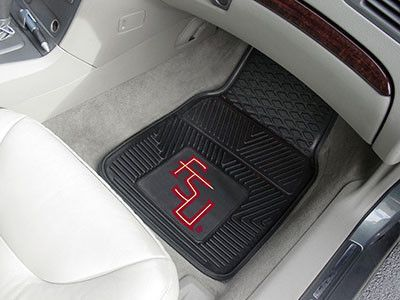 4PC University of Alabama Crimson Tide College NCAA Collegiate Sports Team Logo Front /& Rear Car Truck SUV Vinyl Car Floor Mats
