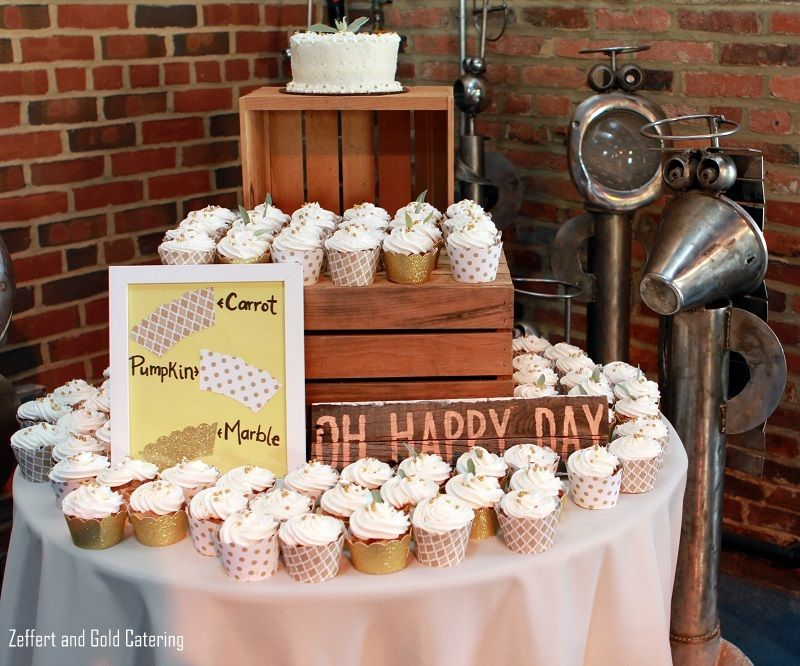 Wedding Cupcake Display Carrot Pumpkin And Marble
