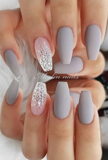 How To Paint Your Nails Like A Pro With Images Matte Nails Design Short Acrylic Nails Short Nail Designs