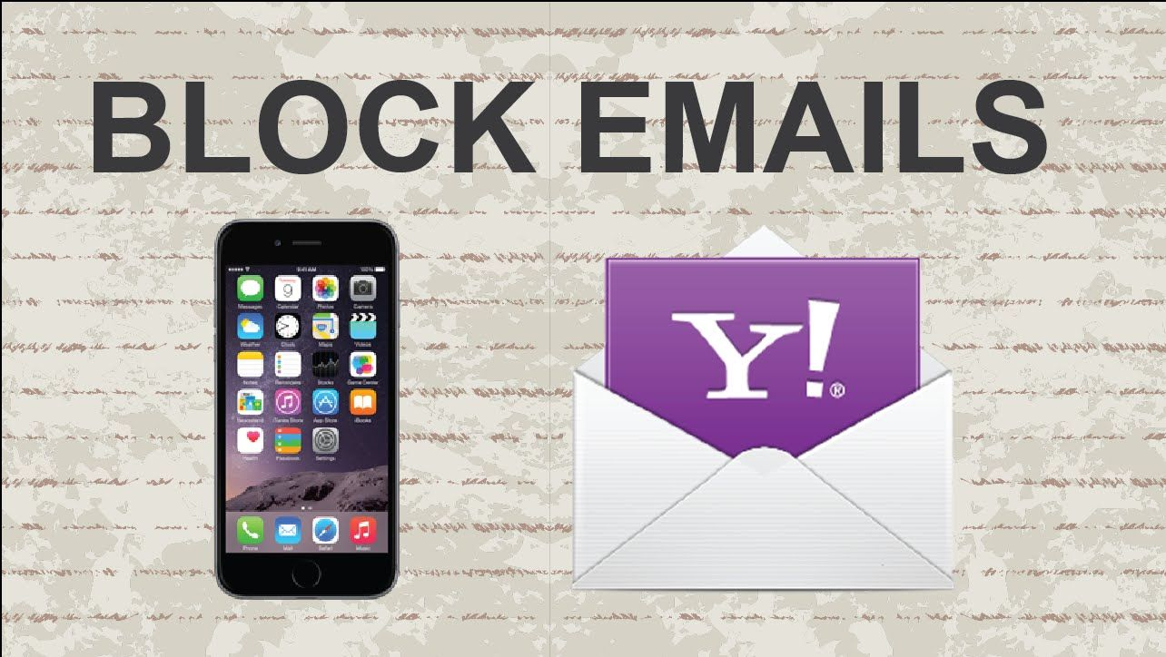 How to block emails on Yahoo Mobile App ‎yahoo