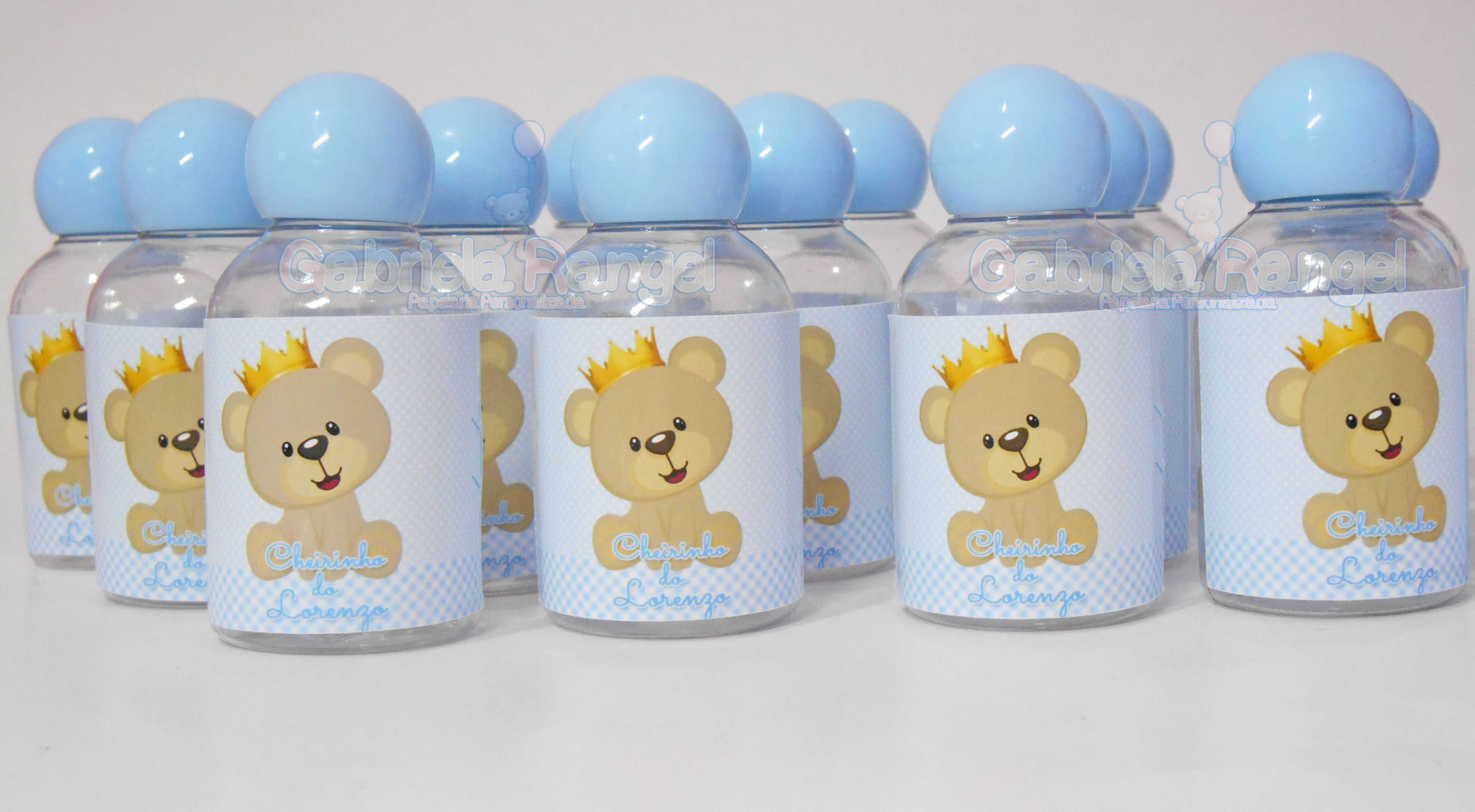 Garrafinha personalizada para festa infantil Garrafinha Personalizada para Shampoo