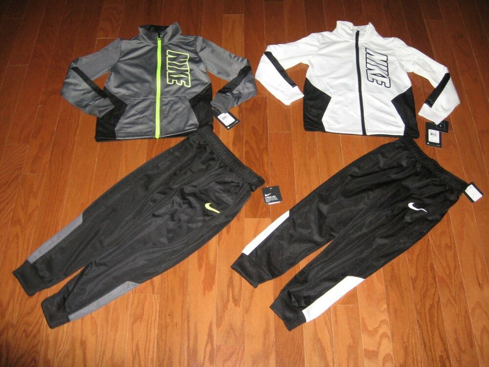 Nike 2Pc Track Suit Jacket & Pants Set Boys Size 4/5/6/7
