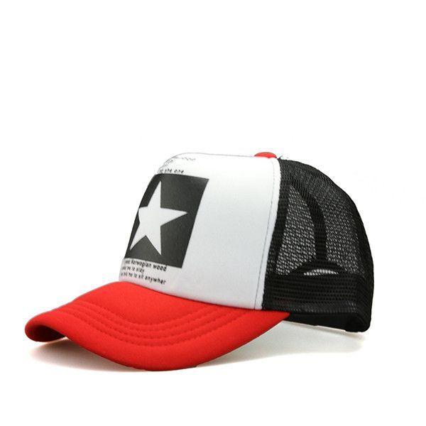 75e362fc82677b A big star in the hat! Simple Cool Nice caps hat baseball snapcap snapback